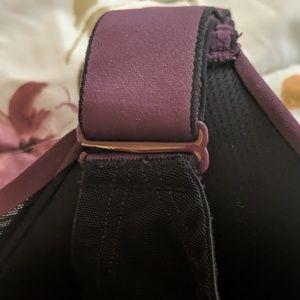 Cacique Intimates & Sleepwear - Multiway Cacique sports bra.  Plum color.